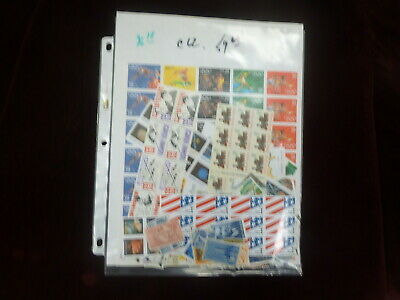 Mint NH United States Discount Postage With Face Value of  $96.18 > 63  %