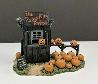 Lemax Halloween Spooky Town Accessory The Pumpkin Patch