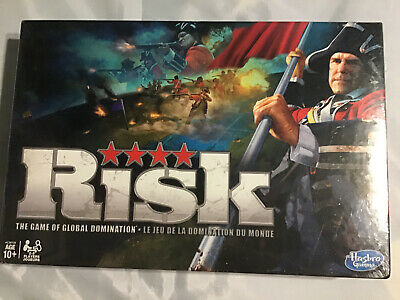 Risk: The Game Of Global Domination Hasbro 2010 Brand New Sealed!!!