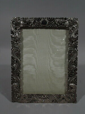 Export Frame - Picture Photo Asian China Trade - Chinese Silver - Wang Hing