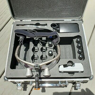 Orascoptic Dental Loupes Model XV 1 WIRELESS 2.5 In Fitted Case