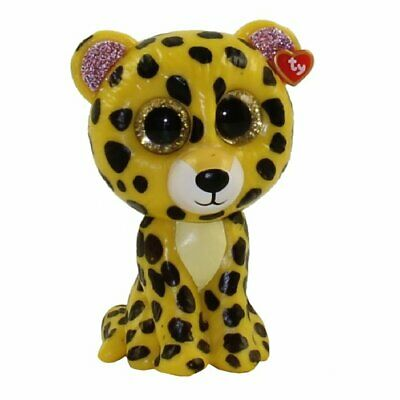 TY Mini Boos Series 3 Collectible Figure Speckles Yellow Leopard