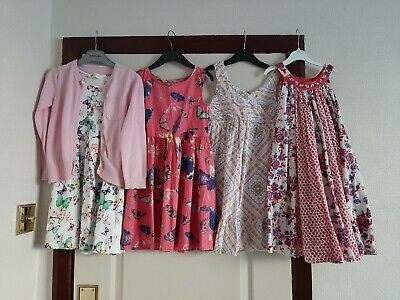 Girls Clothes Dress Bundle Age 6-7 M&S Inc.