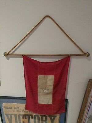 """WWII """"Son In the Service Flag"""" 17x12"""