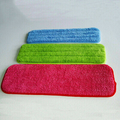 3X Micro-fiber Cloth For Flat Mop Water Spray Floor Sweeper Cleaner Mop Head Kit