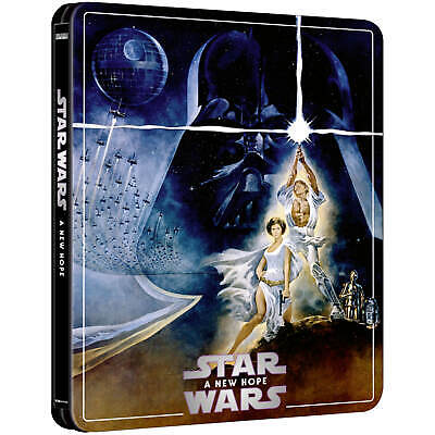 Star Wars Episode IV Un nouvel espoir (A New Hope) 4K Ultra HD Blu-ray Steelbook