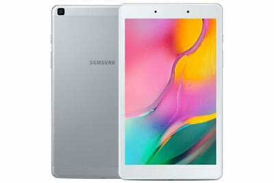 """Samsung Galaxy Tab A 8.0"""" 32GB Quad-Core Android 9.0 Pie Tablet,  Silver"""