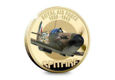 New Official RAF Battle of Britain Spitfire 50p Coin (2020) 1 Pence Auction