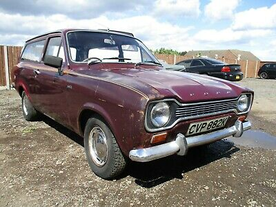 Ford escort mk1 estate 1972