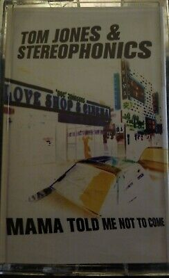 Tom Jones Stereophonics Mama Told Me Not To Come Rare Cassette Single