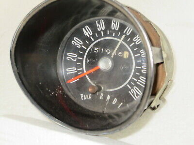 1968 - 1969 Olds Cutlass, 442, Hurst/Olds Speed Warning Speedometer