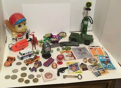 Junk Drawer Huge Lot Of Collectible Of Toys & More