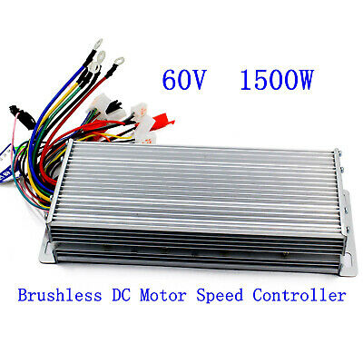 48//60V 1800W Electric Bicycle E-bike Scooter Brushless DC Motor Speed Controller