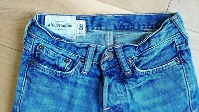 boys ABERCROMBIE blue jeans 8 years