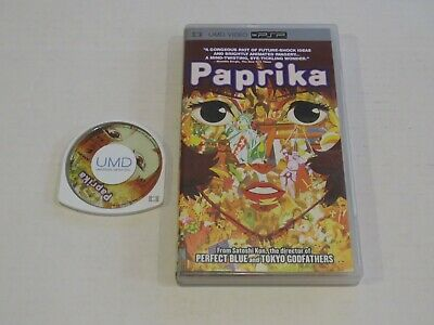 Paprika - Sony PSP UMD Movie - Complete with Case - Playstation Portable - Anime