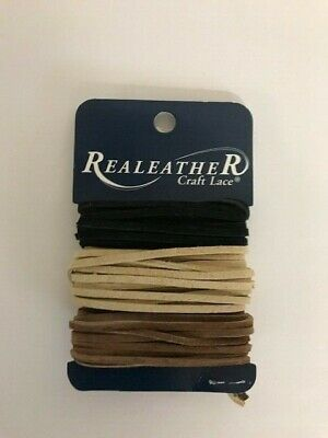 Silvercreek Leather Craft Lace Suede Black Beige & Brown