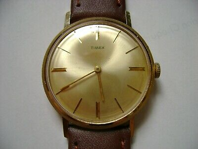 Vintage Men Wind Up Timex  Run And Keep Time
