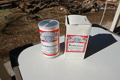 Vintage Budweiser Can Radio New Old Stock New in Box