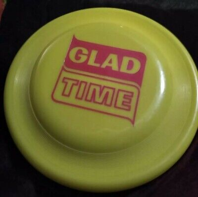 Vintage Collectible Wham-O / GLAD Bags Frisbee! UNUSED GLAD TIME