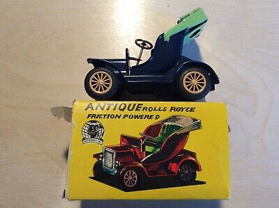 Rare Vintage Sss Int'l Antique Rolls Royce Friction Powered S-1284