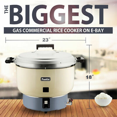 BIGGEST -NSF- Commercial LPG(Propane Gas) Rice Cooker 110 Cup (55 Cup Raw) 26L