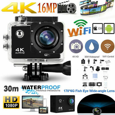 Ultra 4K 1080P Action Camera Waterproof Sports Camera Wifi Camcorder As Go Pro