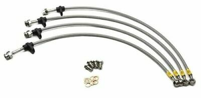 HONDA CIVIC 2.0 TYPE R EP3 HPH024A HEL FRONT /& REAR BRAIDED HOSE KIT FITS