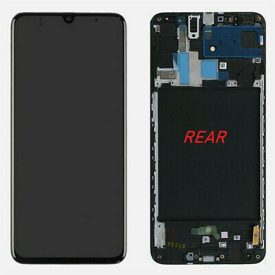 LCD Touch Screen Display Assembly Frame For Samsung Galaxy A70 2019 A705 A705F