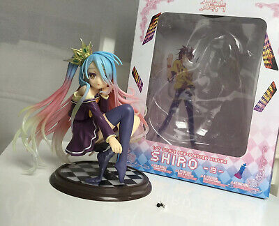 Anime NO GAME NO LIFE  Schwi 1//7 Scale PVC Figur Statue Spielzeug 22cm New