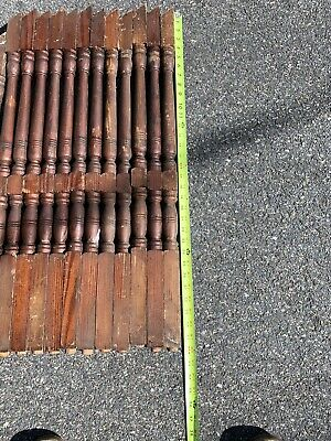 Vintage Baluster Wood Architectural Salvage Spindle Porch Post Stairway Rail