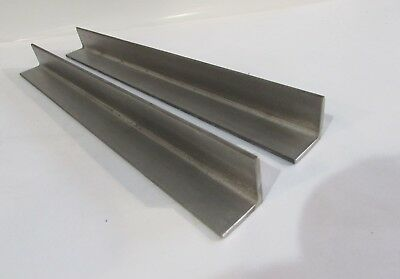 """Stainless Steel 3//4/"""" x 3//4/"""" x 1//8/"""" .125 Type 304 Angle 54/"""""""