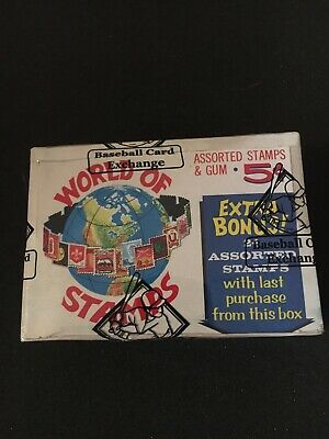 1965 Donruss World Of Stamps Wax Pack