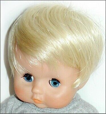 Bell Doll Wig PRECIOUS 7-8 Black New Old Stock
