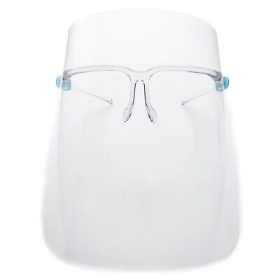 Safety Face Shield Protection Cover Guard Reusable Transparent Anti-Fog in USA