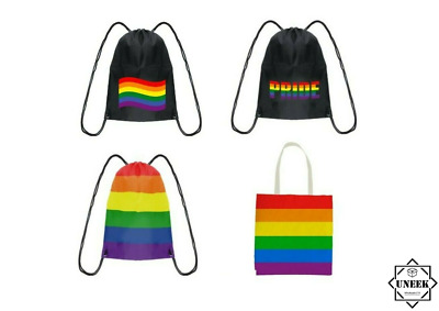 GAY PRIDE SASHES Lesbian LGBT March Freedom Rainbow Celebration Hen Party Lot UK