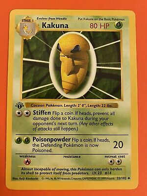 1999 Pokemon Base Shadowless Complete Your Set Pull Down Menu #27-95
