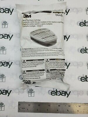 3M 6006 Multi Acid Gas/Organic Vapor Cartridge 2 pack for respirator
