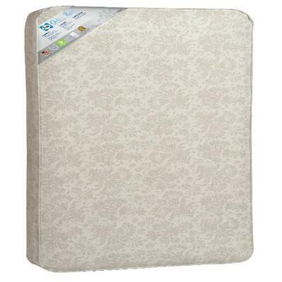 Sealy Hypoallergenic Crib and Toddler Mattress, Waterproof Extra Firm 150 Coils