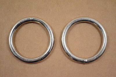 """O Ring - 1 1/2"""" - Stainless Steel - Wire Welded - Pack of 24 (F530)"""