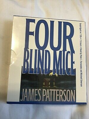 Four Blind Mice by James Patterson: New Audiobook,NEW SEALED