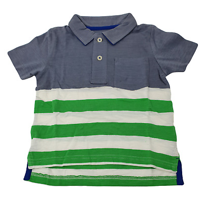 NUOVO RRP £ 24 Mini Boden JERSEY POLO T-shirt Top B-U-15-B