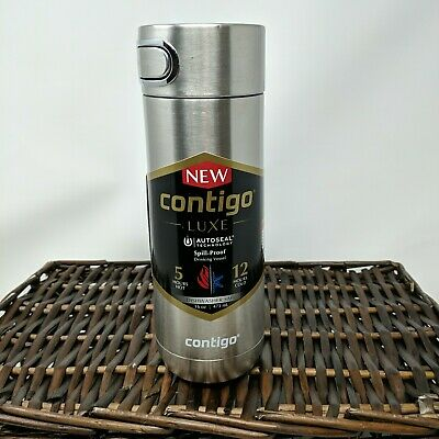 Contigo Luxe AUTOSEAL Vacuum-Insulated Travel  Spill-Proof Coffee Mug 16oz