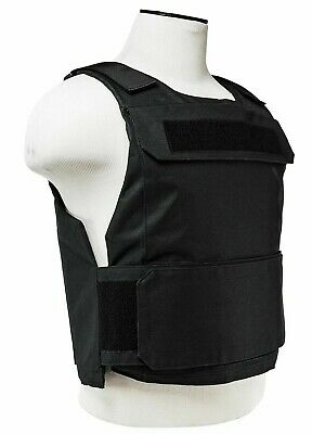 VISM Discreet Plate Carrier Vest XS-SMALL Tactical Shooting Range Hunting BLACK-