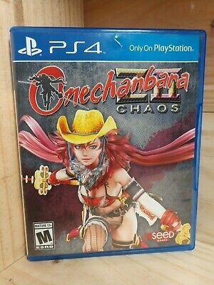 Onechanbara Z2 Chaos Playstation 4 Banana Split Limited Edition