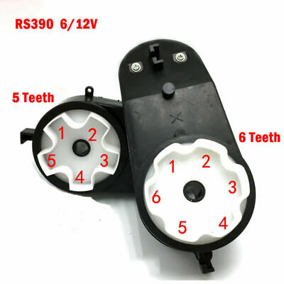 RS390//550 Electric Motor Gear Box For Kids Ride On Car Bike Toy Spare Parts