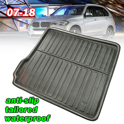 Tailored Rubber Boot car mat liner Heavy Duty BMW X5 E70 SUV 2007-2013