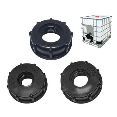 60mm IBC Adapter S80(80mm)Fine Thread to S60x6 IBC Tank Connector Black BE