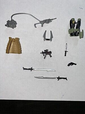 Snow Serpent Style AK-47 Red Laser Lot of 10 Guns Weapons GI Joe Cobra