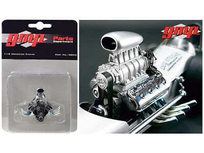 GMP 18899 Blown Altered Drag Engine Zoomie Headers /& Transmission Motor 1:18 ...