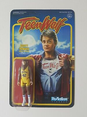 New Sealed ReAction Figure Teen Wolf Scott Howard Varsity Edition